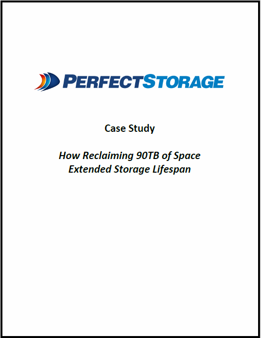 Savills Case Study: Extending Storage Lifespan 7 Months by Reclaiming 40TB Space
